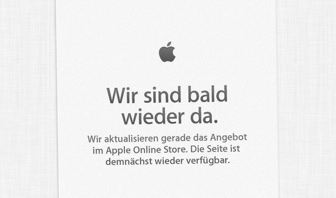 """Apple Store """"offline"""", WWDC-2013-Keynote bringt Produktneuheiten"""