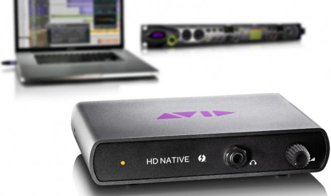 Pro Tools|HD Native: Avid kündigt Thunderbolt-Hardware an