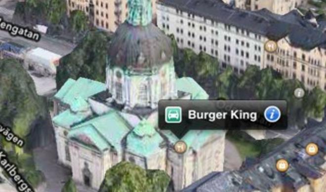 iOS 6: Apple gesteht Mängel in der Karten-App ein