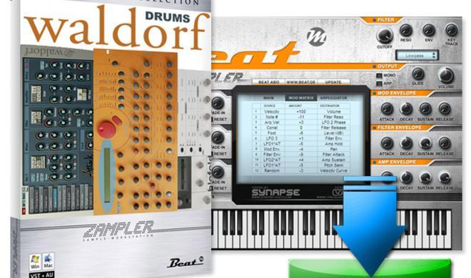 Beat Waldorf Drums: Klopfgeister in Orange