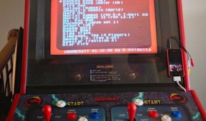 iOS-Entwickler baut MAME-Arcade-Maschine aus einem iPhone
