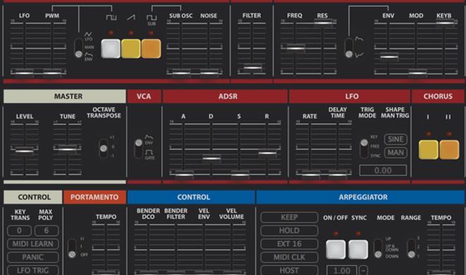 TAL U-No-Lx - Synthesizer-Plug-in