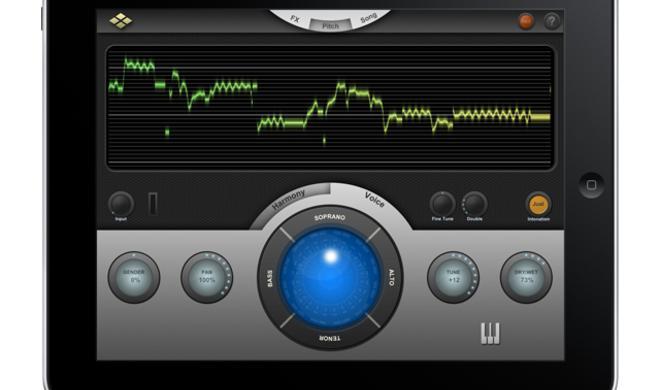 Harmony Voice - Pitch Shifter für das iPad