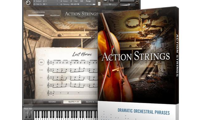 Native Instrument Action Strings - Kontakt Expansion