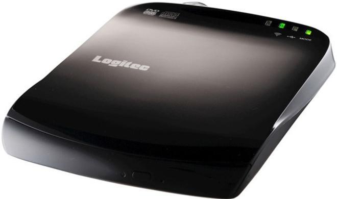 Logitec stellt CD/DVD-Laufwerk mit Wi-Fi für iOS vor
