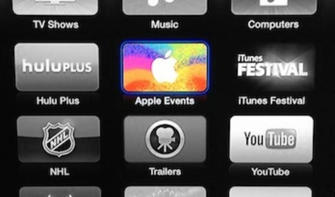 iPad-mini-Event: Apple sendet Video-Live-Stream auf das Apple TV
