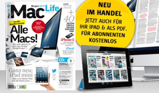 Neue Macs, iPad mini, iPhone 5 im Alltagstest u. v. m.