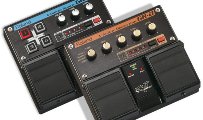 V-Guitar Distortion und Space - Twin Pedale von Roland