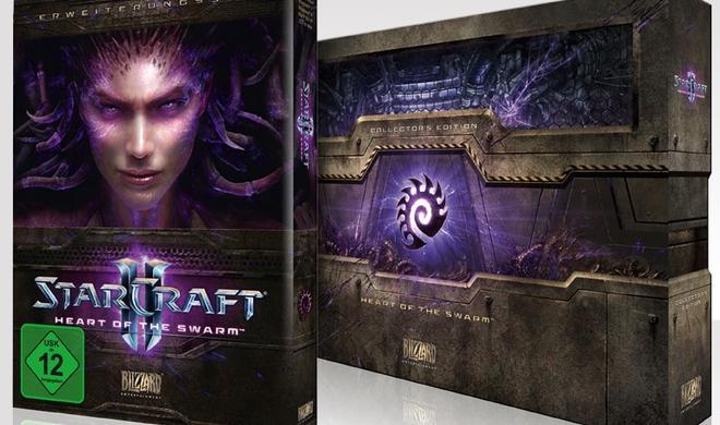 """Auch für OS X: """"StarCraft II: Heart of the Swarm"""" erscheint am 12. März 2013"""