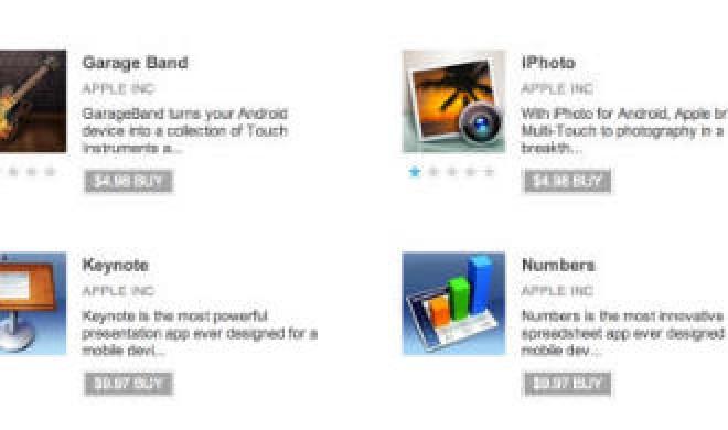 Fake-Apps: iLife und iWork kurzzeitig in Google Play aufgetaucht