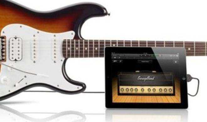 Im Apple Store: Fender-Gitarre mit iOS-Konnektivität