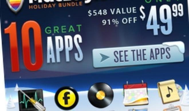 MacLegion Holiday Bundle: 10 großartige Apps zum Schnäppchenpreis