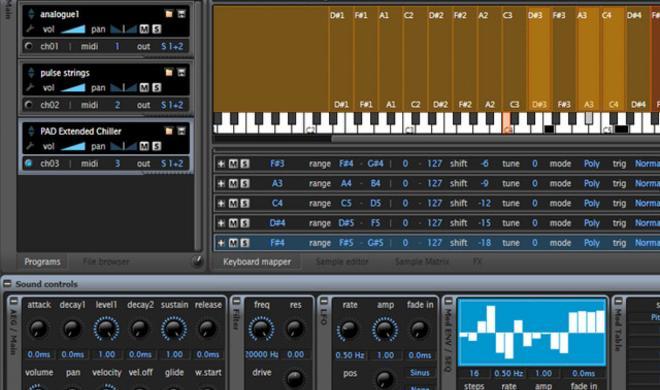 TX16Wx 2.0 von Calle Wilund - Freeware Sampler