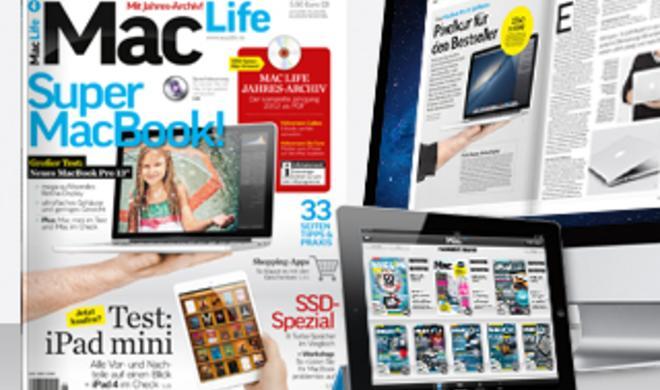 Test: MacBook Pro 13 Zoll Retina, SSD-Spezial: Tests und Workshops, u. v. m.