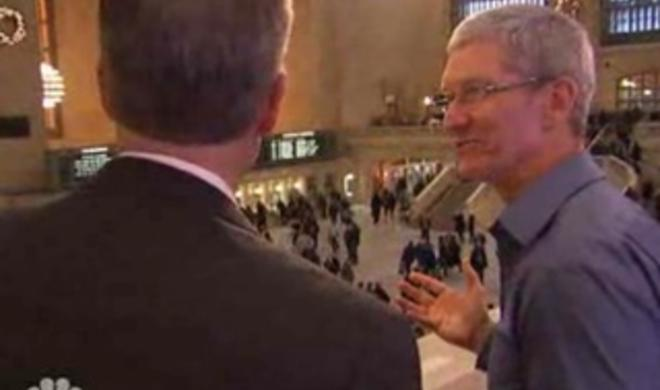 Video: Tim Cook im NBC-Interview