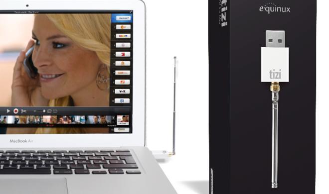 DVB-T für OS X: Equinux stellt tizi für Mac vor