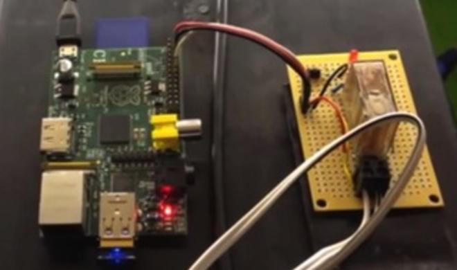 Netzfundstück: Siri & Raspberry Pi öffnen Garagentor