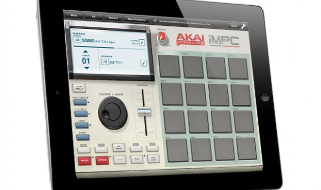 Akai iMPC - Mobiles Ministudio