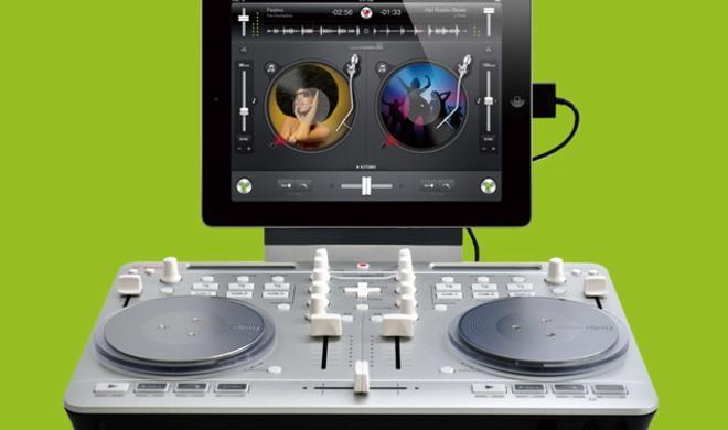 Vestax Spin2 - DJ-Controller für iOS-Geräte