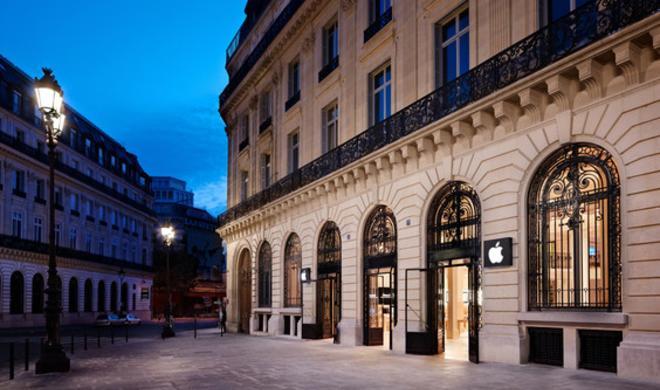 Räuber überfallen Apple Store Paris