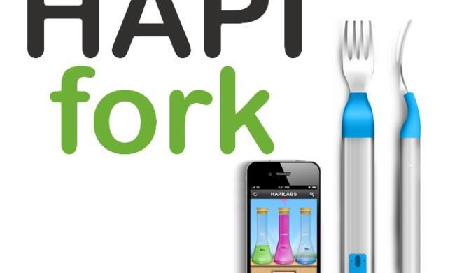CES 2013: HAPIfork, die digitale iPhone-Gabel
