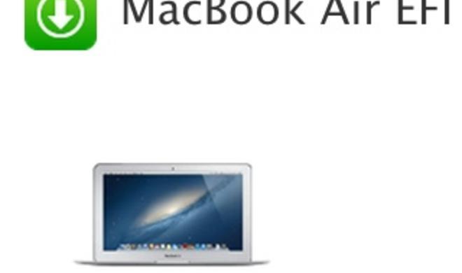 MacBook Air Mid 2012: Apple stellt EFI-Firmware-Update 2.6 bereit