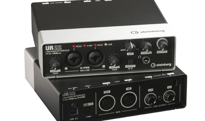 Steinberg UR22 - Kompaktes Audio-Interface