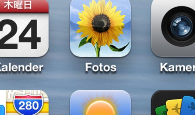 iOS: Fotoalben umbenennen am iPhone und iPad