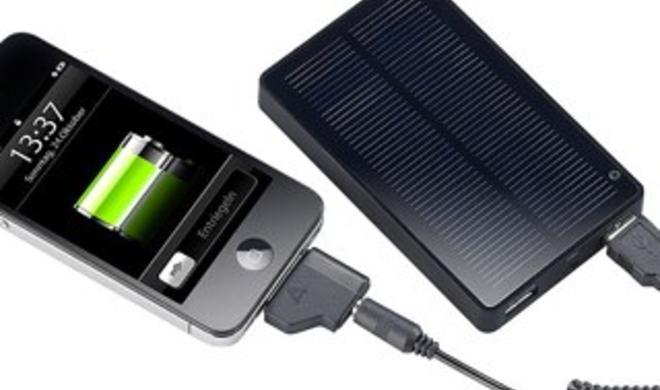 Exklusiver Rabatt: revolt Solar-Powerbank für mobile Geräte zum Schnäppchenpreis