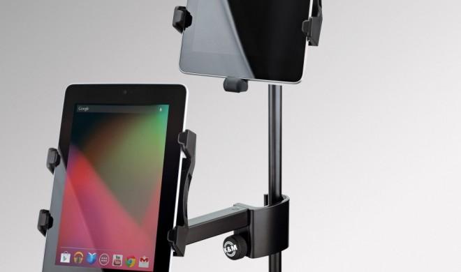 Universal-Halter für Tablet-PCs & Smartphones von K&M