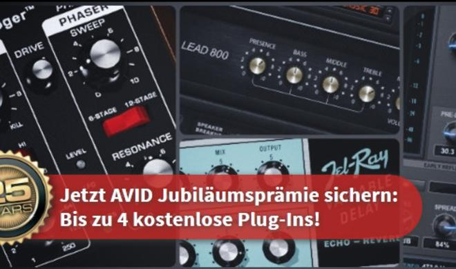 AVID Jubiläums-Promotion bis zum 28. März 2013 verlängert!