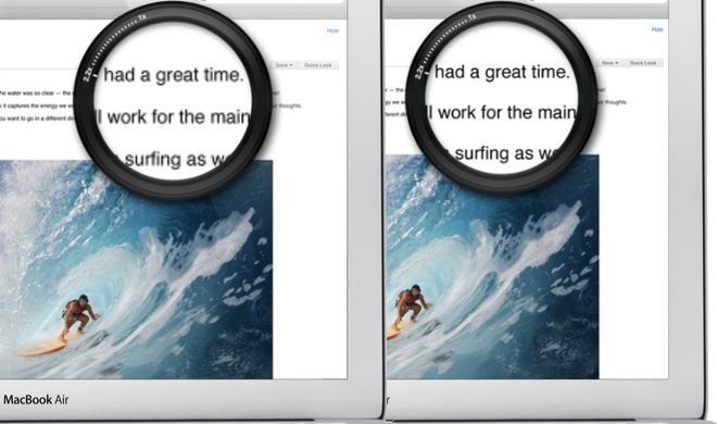 Bericht: MacBook Air im neuen Design und mit Retina Display im Herbst 2013