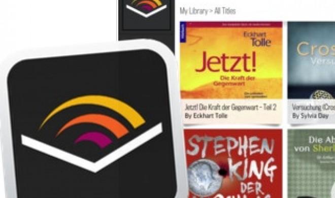 Hörbücher: Audible verbessert iOS-App, unterstützt das iPad