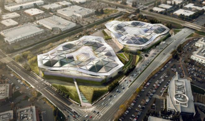 """Neues Hauptquartier: Nvidia baut ebenfalls ein """"Raumschiff"""""""