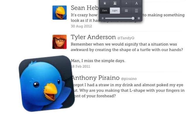 Neue Funktionen: Iconfactory veröffentlicht Twitterrific 5.1