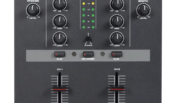 DJ-Tech stellt günstigen Battle-Mixer DIF-1S vor