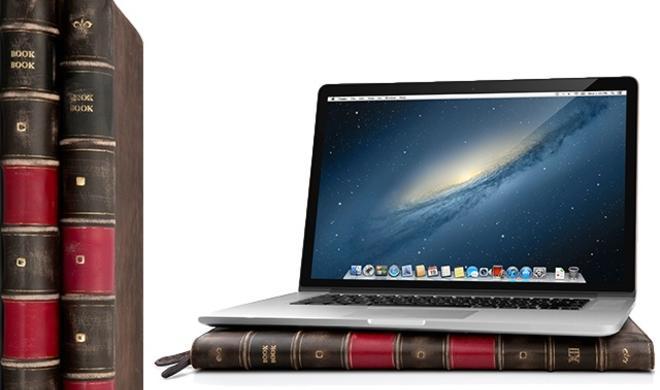 BookBook: Kultige Schutzhülle ab sofort auch für das MacBook Pro mit Retina-Display erhältlich