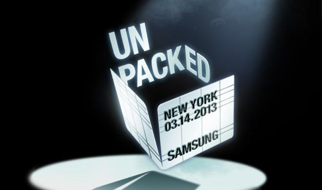 Samsung stellt das Galaxy S4 in New York vor