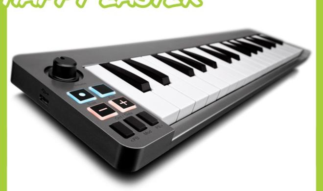 """Happy Easter""-Shopping-Tipp: M-Audio Keystation Mini 32, kompakte Klaviatur für OS X und iOS"