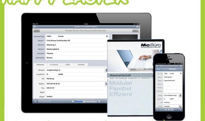 """Happy Easter""-Shopping-Tipp: McBüro – smarte Business-Software für Mac, Win und iOS"