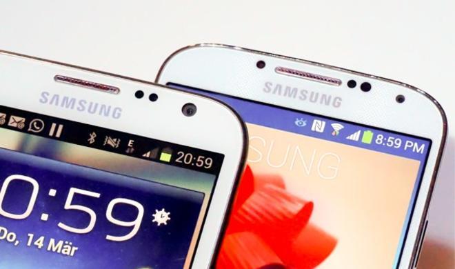 Samsung Galaxy S5: Mit Iris-Scanner gegen Apples Touch-ID?