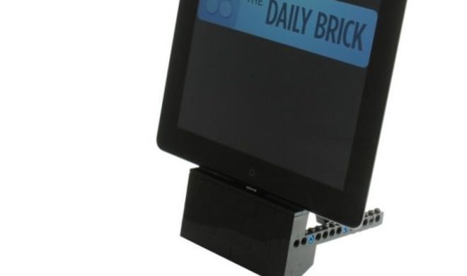 Netzfundstück: Das Lightning-Dock aus LEGO
