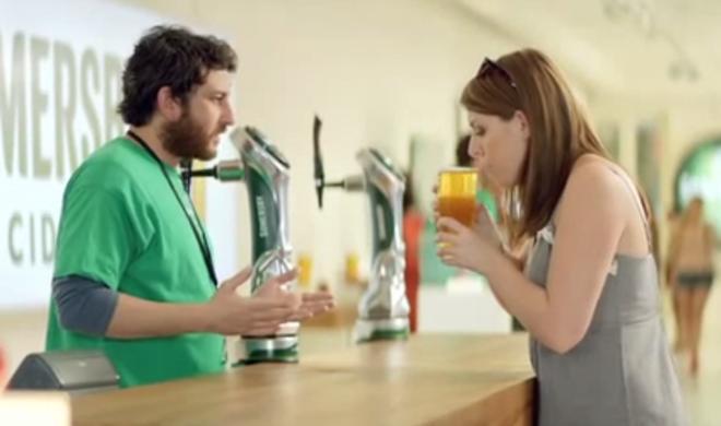 Netzfundstück: Getränkehersteller wirbt im Apple-Stil