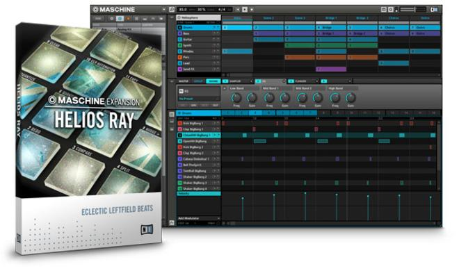 Native Instruments Helios Ray - Maschine Expansion