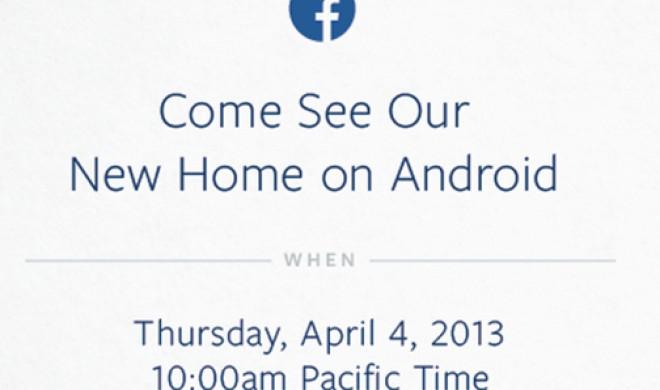 Facebook lädt ein zum Android-Event, könnte eigenes Smartphone vorstellen