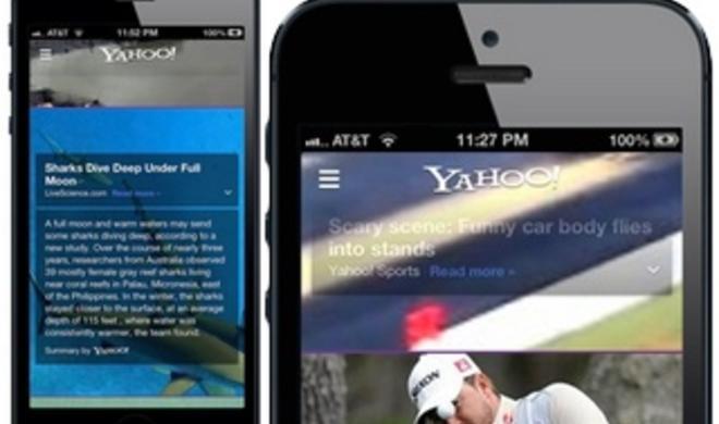 Ab sofort mit Summly-Integration: Yahoo-App aktualisiert