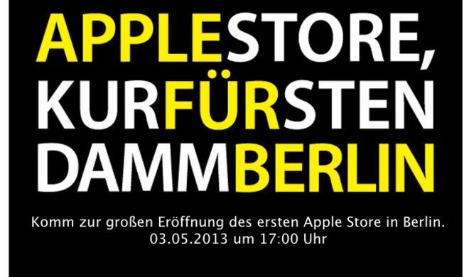 Offiziell: Apple Store in Berlin am Kurfürstendamm eröffnet am 3.5.2013