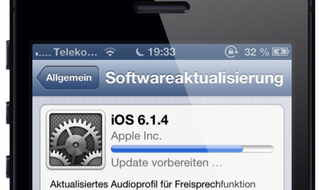 Apple veröffentlicht iOS 6.1.4 für iPhone 5