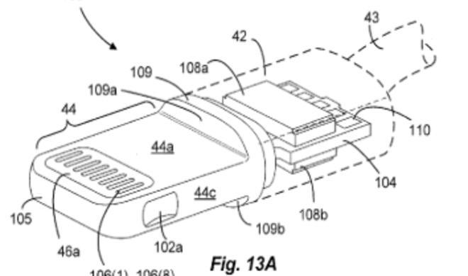 Patentanträge enthüllen die Details des Lightning-Anschlusses