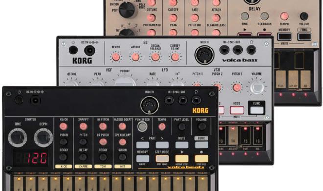 Korg Volca Serie - Mini-Synthesizer